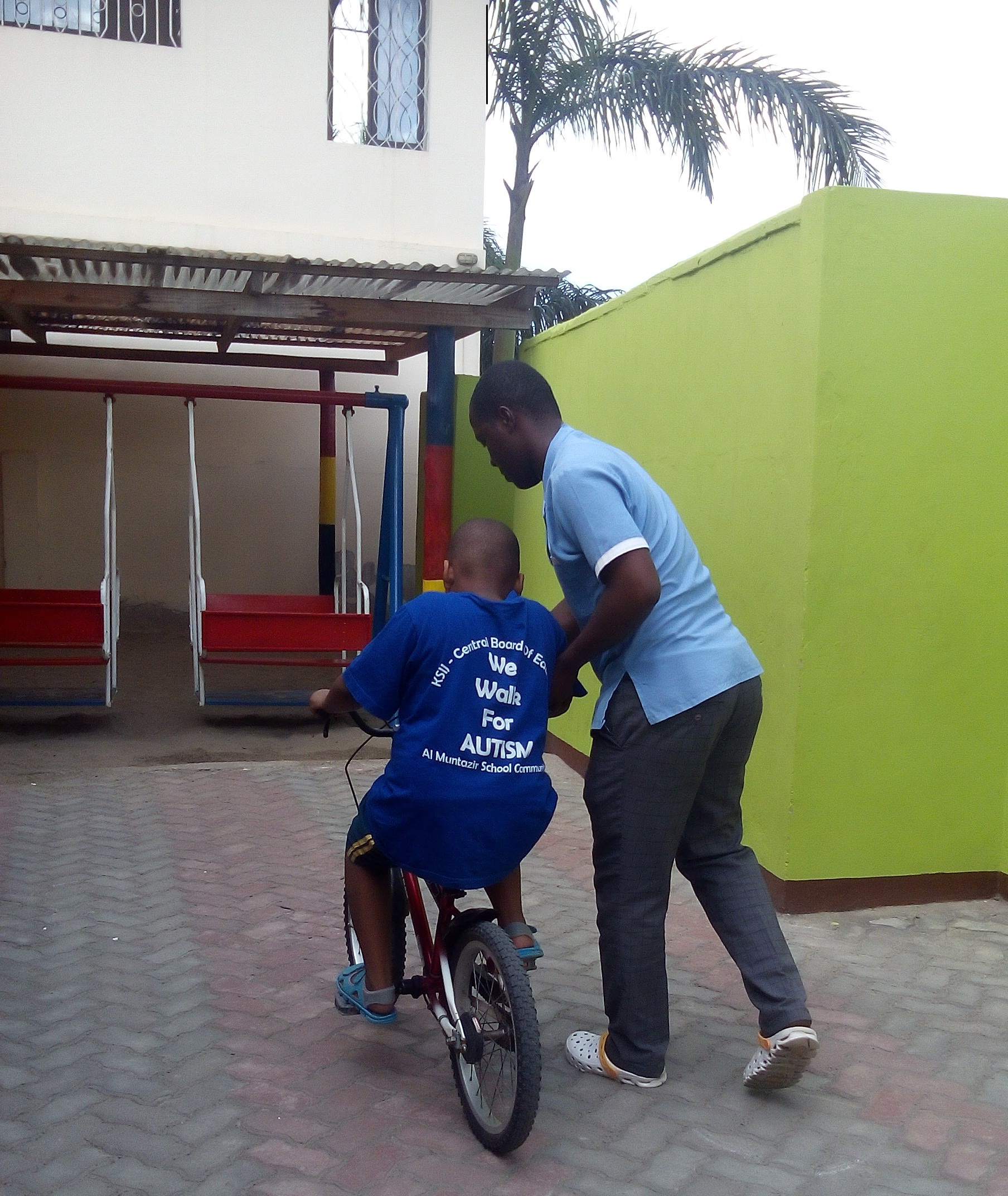 """My Bike"" A special program to train Children with Autism bicycle riding"